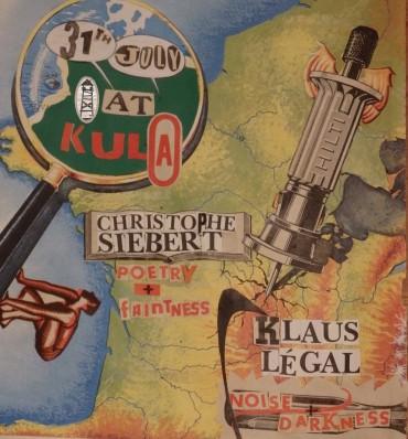 Концерт на Клаус Легал и поетско читање на Кристоф Зибер